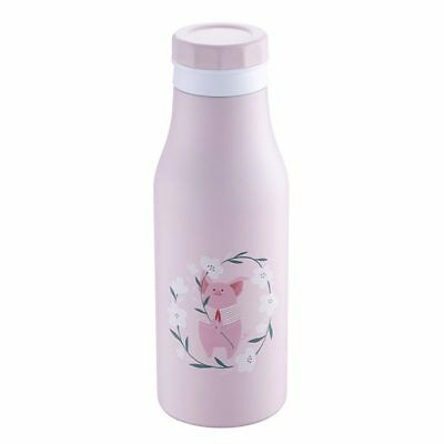 Starbucks Taiwan 2019 Chinese lunar year of pig ss waterbottle floral wreath