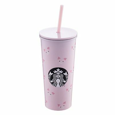 Starbucks Taiwan 2019 Chinese lunar year of pig stainless steel togo cup 16oz