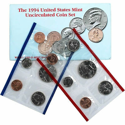 1994 P and D US Mint Uncirculated Coin Set