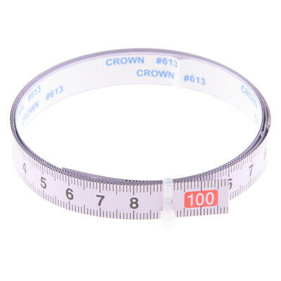Woodworking Tool Metric Track Tape Measure Self Adhesive 1M L to R Reading
