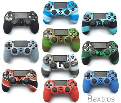 EXTRA PRO EXTREME GRIP Camouflage Rubber Skin Cover Case For Sony PS4 Controller