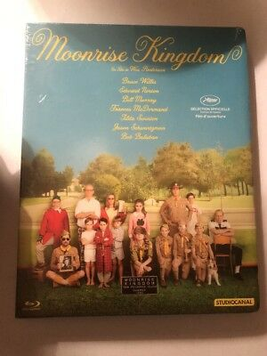 Moonrise Kingdom - Wes Anderson - Blu-ray Édition Fnac - NEUF SOUS BLISTER