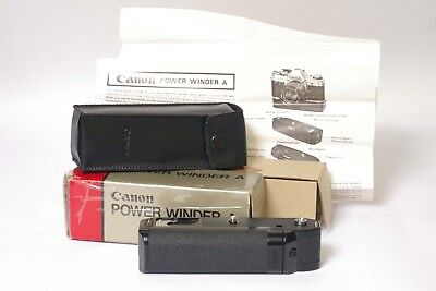 F96031~ Canon Power Winder A  *mint* & Box – Tested – Free Ship