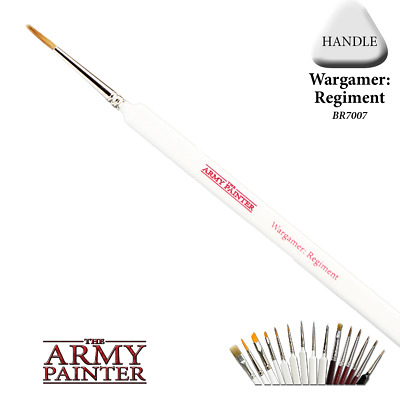 Army Painter Regiment Wargamer Brush Painting Supplies TAP BR7007