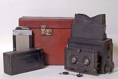 F95005~ Vintage Germany 6x13cm Mentor Stereo Reflex Camera – For Display