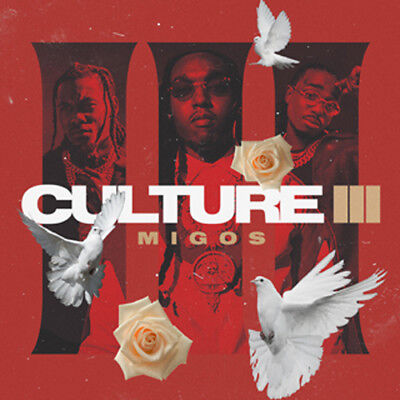 MIGOS CULTURE III 2018 (Mixtape) Official Album CD Rap Trap HipHop