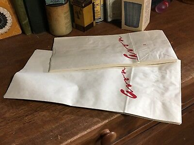 lot of 11 vintage AVON Rep advertising product paper bags TWO SIZES