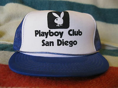 Very Rare Original San Diego Playboy Club Hat 1981 Hugh Hefner