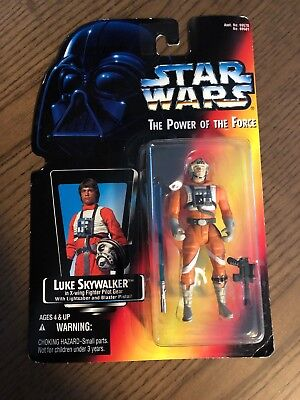 Star Wars Luke Skywalker X-Wing Red Card POTF