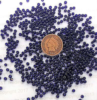 10/0 Old Time Color Vintage French Midnight Cobalt Blue  Seed Beads