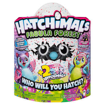 HATCHIMALS Fabula Forest Hatching Egg Featuring Tigrette w/2 Bonus CollEGGtibles