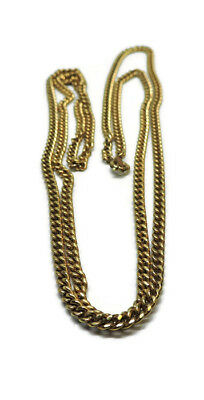2b472bb3854eb VINTAGE 1/20 12K Gold Filled Signed Caco Chain Necklace 30