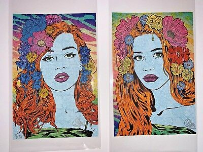 Chuck Sperry Oracle And Seer Blotter Variant Set Chuck Sperry Print Art Basel