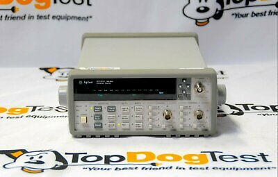 Hp Agilent Keysight 53131A 225 MHz Universal Frequency Counter Timer w 010 030