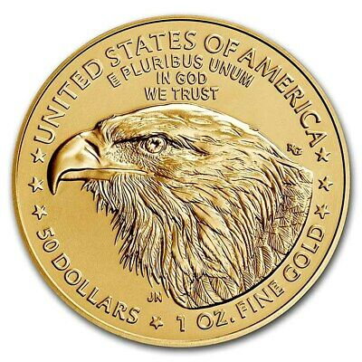 2019 Gold 1 oz Gold American Eagle $50 US Mint Gold Eagle Coin
