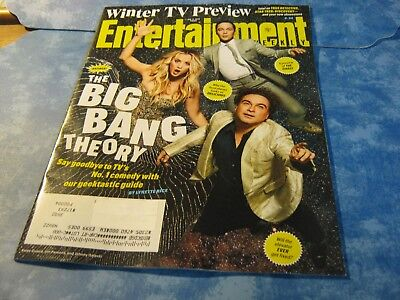 ENTERTAINMENT WEEKLY January 11, 2019 THE BIG BANG THEORY Winter TV Preview NEW