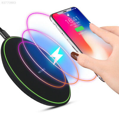 20DF Fast QI Wireless Charger Charging Pad Mat For iPhone X 8 Samsung Note 8 S9+