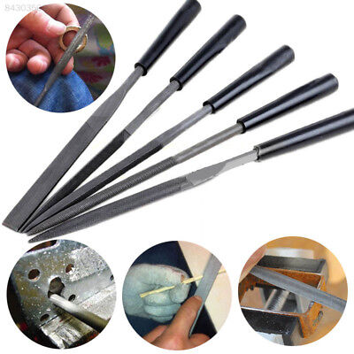 D976 5PCS/Set Needle File Diamond Wood Carving Model Metal Stone Craft Hand Tool