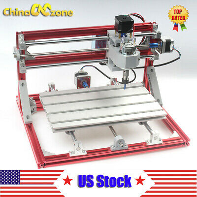 CNC 3018 DIY CNC & Laser Engraving Router Carving PCB Milling Cutting Machine