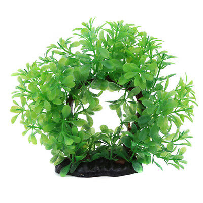 Fish Tank Underwater Plant Aquarium Artificial Plastic Grass Water Plant LD