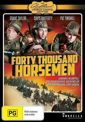 Forty Thousand Horsemen (DVD, 2014) New And Sealed AUSTRALIAN  MOVIE