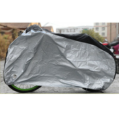 Outdoor Waterproof Bicycle Cover Bike Cycle Rain UV Protector with Lock Hole