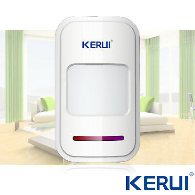KERUI 433MHz Wireless Infra-red PIR Motion Sensor Detector Home Alarm System