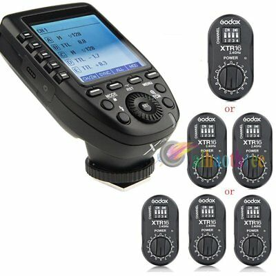 Godox Xpro-S TTL HSS 2.4G Wireless Flash Trigger + XTR16 USB Receiver For Sony
