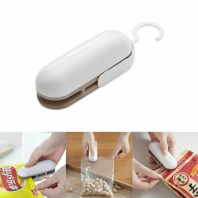 Chip Bag Resealer Portable Mini Package Air Tight Re Sealer Snack Seal Heat E6