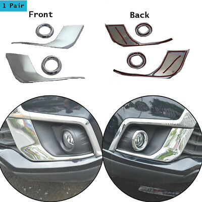 Front Fog Light Lamps Cover Trims For Mitsubishi ASX Outlander Sport 2016 2017