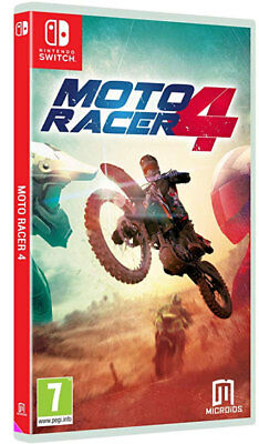 Moto Racer 4 (Switch)  BRAND NEW AND SEALED - IN STOCK - QUICK DISPATCH