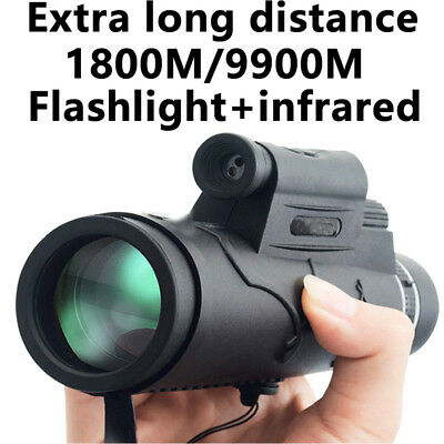 1500M/9500M infrared Distance Night Vision Monocular Mobile Phone Telescope TOP