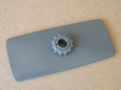 Jemca NOS Interior Rear View Mirror Head Only Grey Triumph Ford MG MGB GT MGC