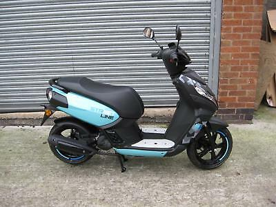 Peugeot Kisbee 50cc Streetline Brand New FREE DELIVERY UP TO 50 MILES