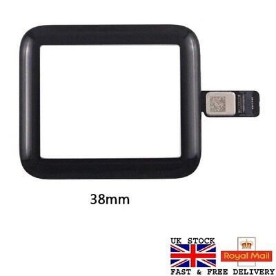 Front Touch Screen Digitizer Panel Glass Lens for Apple Watch Series 1 2 3 UK