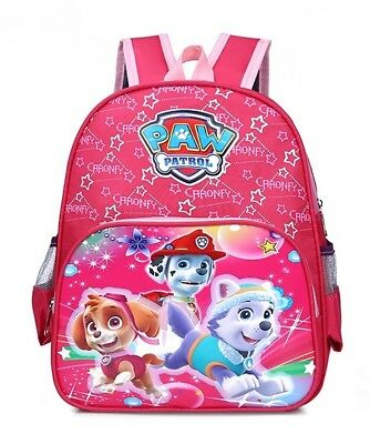 "USA Seller NEW Paw Patrol Pre-School Kindergarten Travel Backpack 13"" RED"