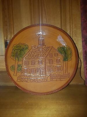 Ned Foltz Dish The Acadamy at the Ephrata Cloisters Limited Edition # 92 MINT
