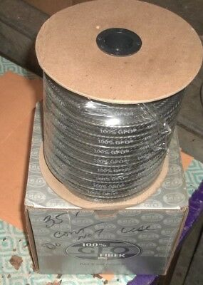 100% Gfo Fiber Compression Packing 35' 1/2 35Ft 35 Foot Spool (J5)