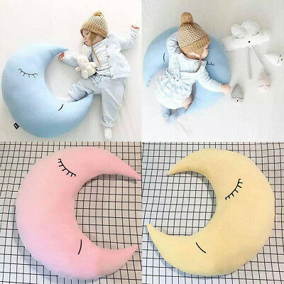 Cute Cloud Star Sweet Dreams Moon Cushion Childrens Nursery Pillow Kids Soft Toy
