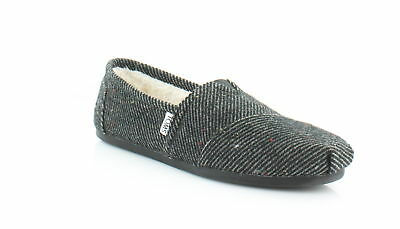 TOMS Classic Women's FLATS Black/White Speckled