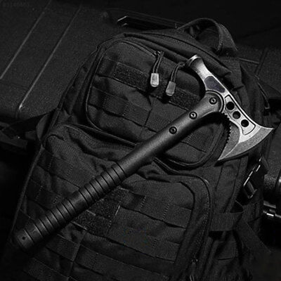 0F27 Hammer Axe Survival Tool Black Tool Camp Military Outdoors Stainless Steel