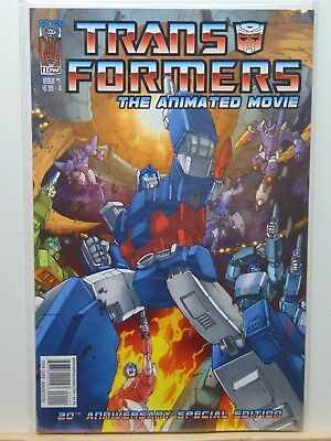 Transformers the Animated Movie #1 Cover A Variant IDW Comics CB6784
