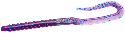 Zoom U-Tale Worm 6.75 Inch 20 Pack Zoom Worm Soft Plastic Fishing Lure
