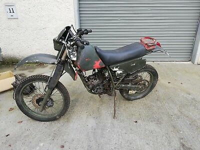 1995 Honda XR250 Project spares or repair XR 250  280cc