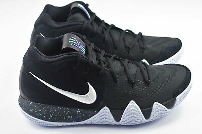 cheap for discount afdc8 8967f NIKE KYRIE 4 Mens Size 11 Basketball Shoes Black 943806 002 Ankle Taker Blue