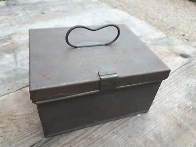 Nice old metal box with handle