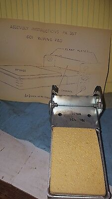wilder soldering iron wiping pad NOS Port Jervis NY