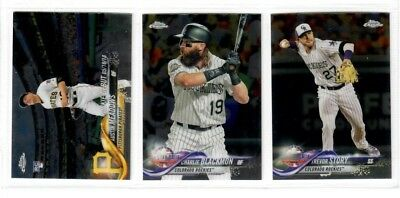 2018 Topps Chrome Update Base You Pick TROUT OHTANI TORRES ALBIES ACUNA RC +++