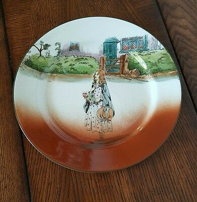 """Royal Doulton """"Little Nell"""" Plate Dickens Ware"""