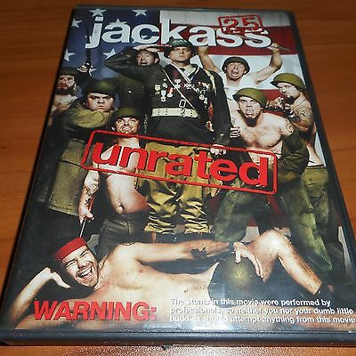 Jackass 2.5 (DVD, 2007, Widescreen; Unrated) Bam Margera, Chris Pontius Used